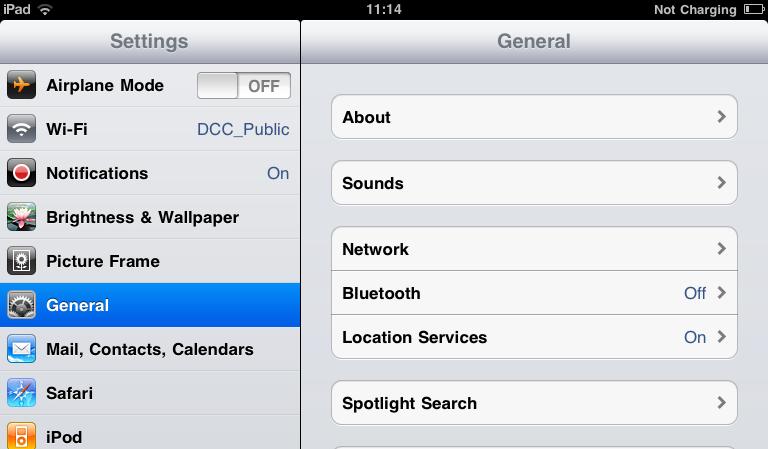 how to change mac address ipad