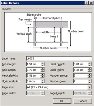 how to print labels in microsoft word 2010