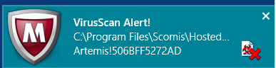 how to find trojans detected in mcsfee